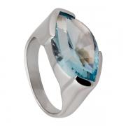 Серебряное кольцо Sandara Luxe с топазом