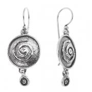 Серебряные серьги Yaffo