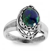 Серебряное кольцо Yaffo с лазуритом