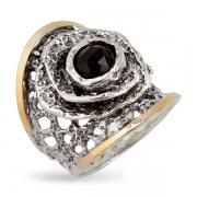 Серебряное кольцо Yaffo с фианитом