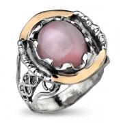 Серебряное кольцо Yaffo с кварцем
