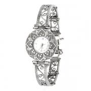 Серебряные часы Yaffo