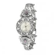 Серебряные часы Yaffo с аметистом
