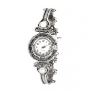 Серебряные часы Yaffo с жемчугом и фианитом