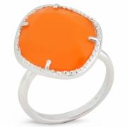 Серебряное кольцо Sandara c обсидианом