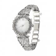 Серебряные часы Yaffo с перламутром